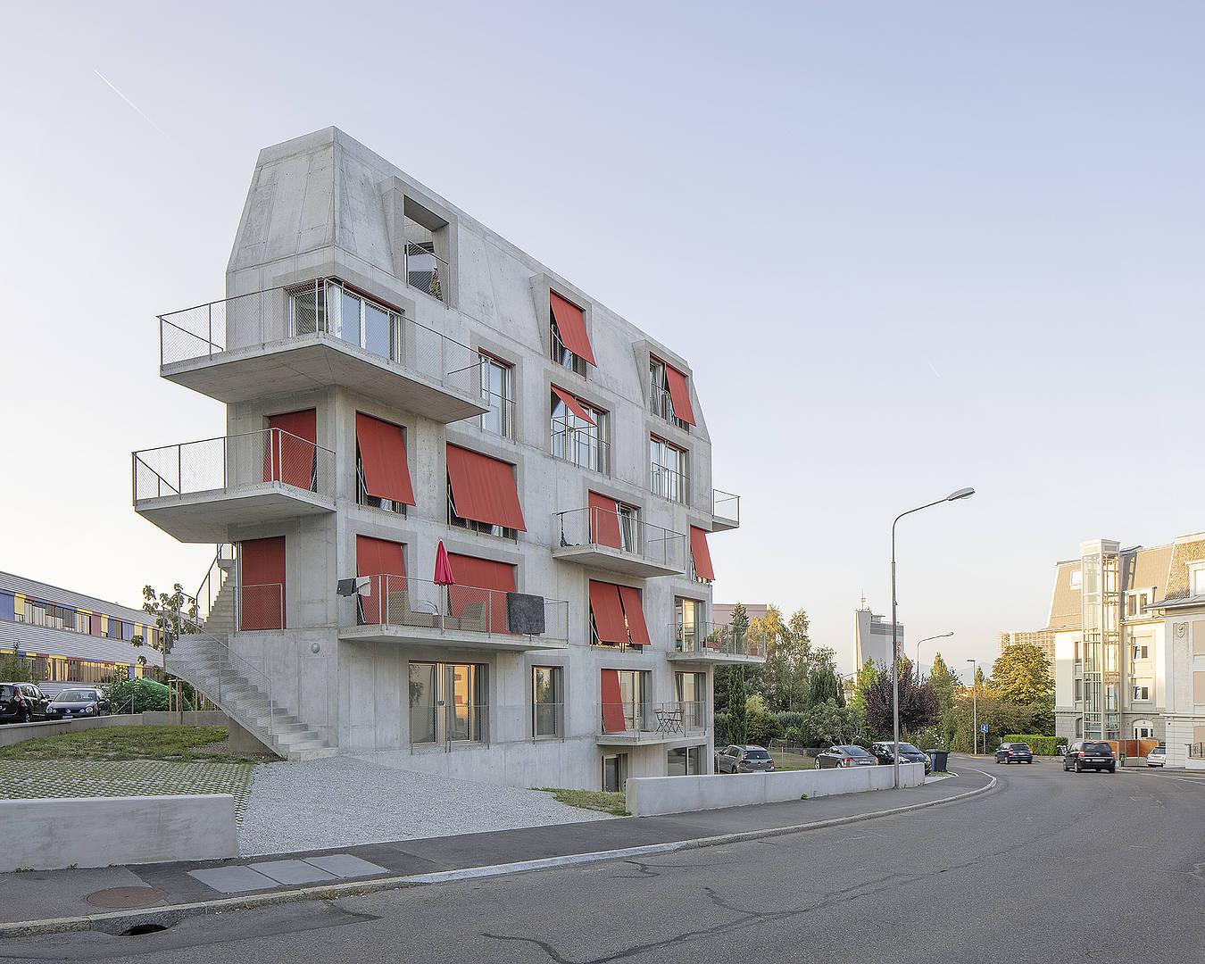 Dreier frenzel architecture communication immeuble